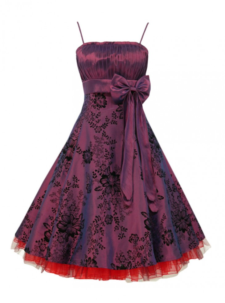 "Robe Soirée Mariage Pin-Up Rockabilly Vintage ""Amber"""