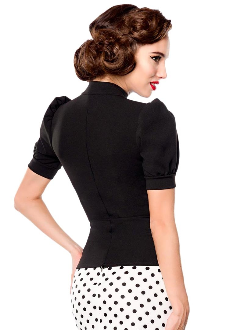 Belsira Rockabilly Up Pin Bustier Diana Top Vintage 50 Années ARq5L4j3