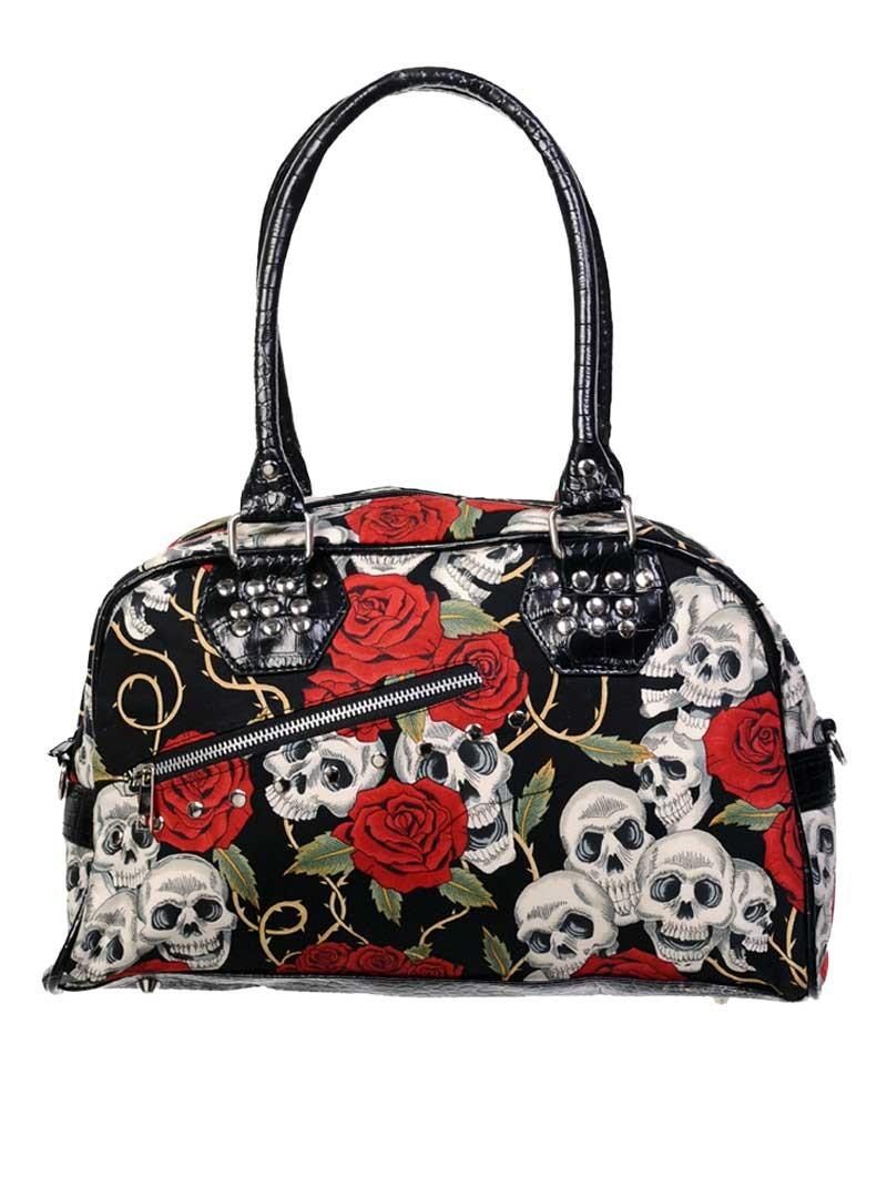 sac main rock gothique banned skulls roses. Black Bedroom Furniture Sets. Home Design Ideas