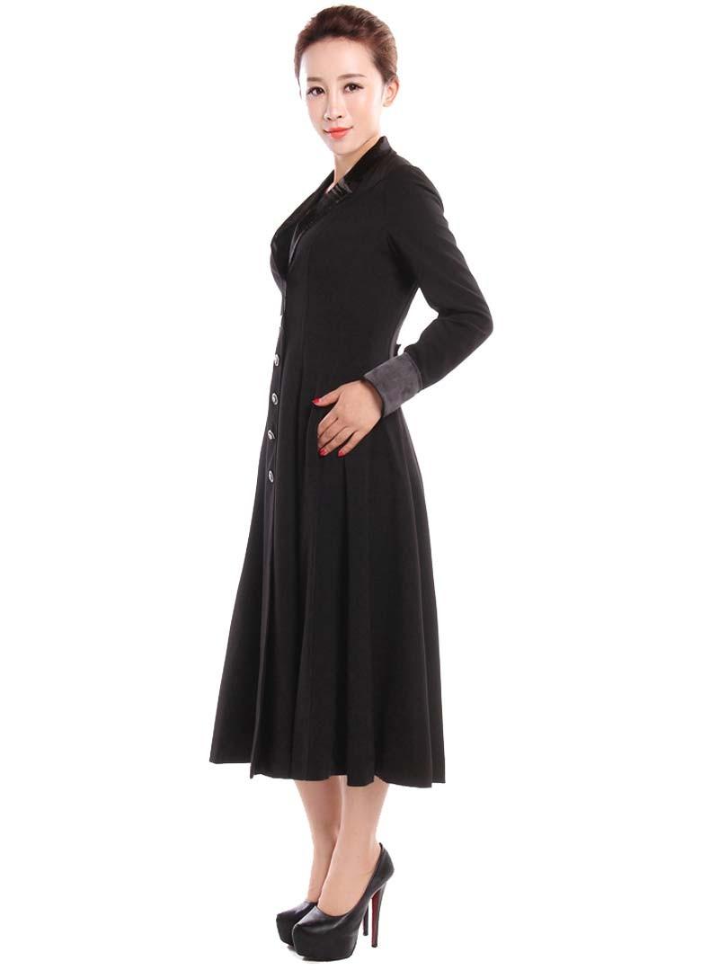 manteau gothique lolita rockabilly chicstar black amber. Black Bedroom Furniture Sets. Home Design Ideas