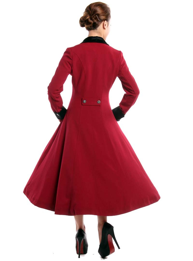 manteau gothique lolita vintage chicstar red amber. Black Bedroom Furniture Sets. Home Design Ideas