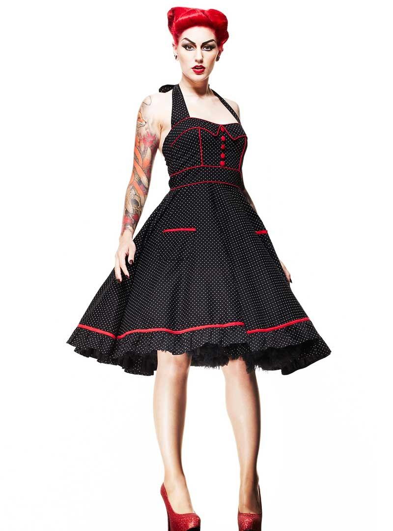 "Vintage Année 50 concernant robe rockabilly vintage années 50' hell bunny ""vanity"
