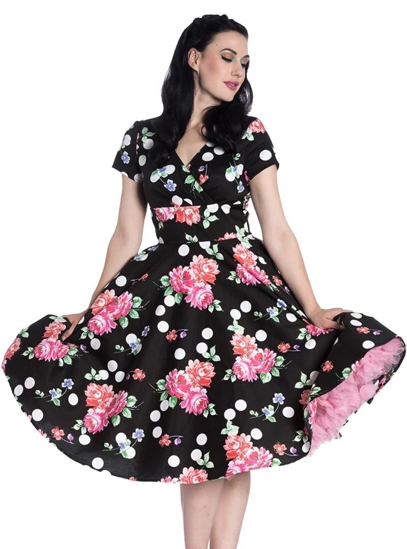 5d93b918351 Robe Rockabilly Pin-Up Années 50 Hell Bunny