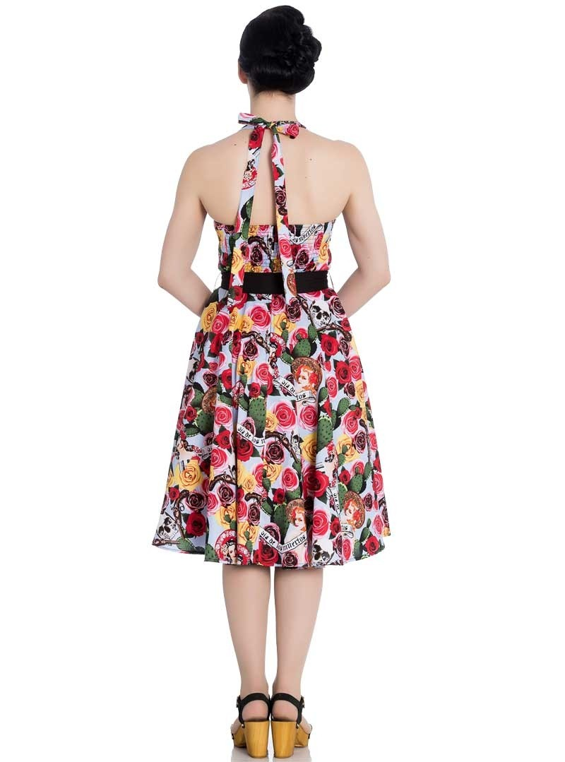 Robe ann es 50 rockabilly pin up hell bunny mexico - Robe pin up annee 50 ...