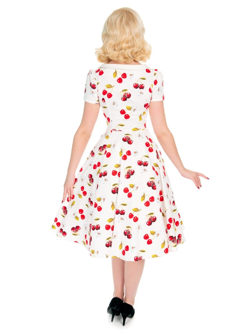 8ac080b384 Robe Années 50 Pin-Up Rockabilly HR London