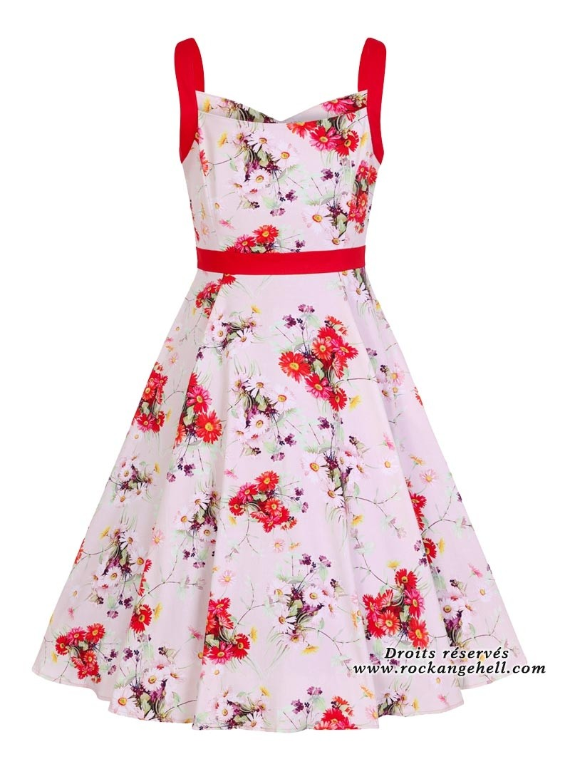 c0c840fc08 Robe Rockabilly Années 50 Pin-Up HR London