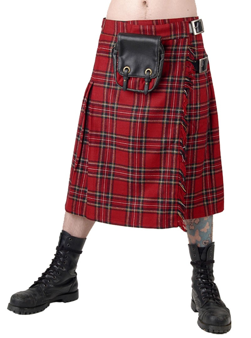 kilt ecossais homme queen of darkness red tartan. Black Bedroom Furniture Sets. Home Design Ideas