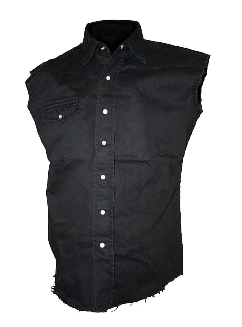 chemise rock sans manches spiral workers. Black Bedroom Furniture Sets. Home Design Ideas