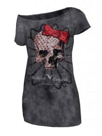 """Tee-shirt Rock Gothique Alchemy """"Dark Love"""""""