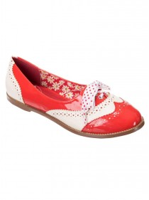 "Chaussures Derby Pin-Up Vintage Rockabilly Banned ""Milana"""