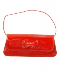 "Sac Pochette Rouge Rockabilly Retro Vintage Banned ""Mimi Red"" - rockangehell.com"