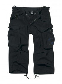 "Pantacourt homme rock punk Brandit ""Industry 3/4 Black"""