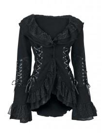 """Veste Gilet GothiqueLolita Poizen Industries (Evil Clothing) """"Cord Lace"""""""