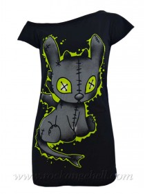 "Débardeur Gothique Rock Cupcake Cult (Evil Clothing) ""Voodoo Dragon"" - rockangehell.com"