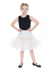 "Jupon Enfant Fille Rockabilly Retro Vintage HR London ""White"" - rockangehell.com"