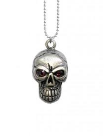 "Pendentif Rock Gohtique Rock Daddy ""Skull"""