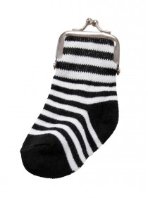 Porte-monnaie Queen of Darkness Striped Sock