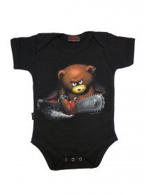 "Body Bébé Dark Wear Gothique Spiral ""Beware the Bear"""