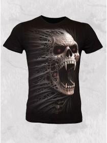 """Tee-shirt punk rock homme Spiral """"Cast Out"""""""