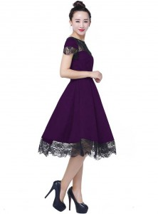 "Robe Rockabilly Gothique Chicstar ""Anna Purple"" - rockangehell.com"