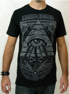 "T-shirt rock Liquor Brand ""Eye Pyramid"""