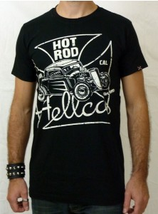 "Tee-shirt rockabilly homme Hotrod Hellcat ""Norcall"""