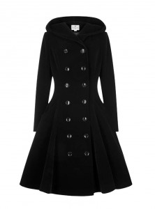 "Manteau Pin-Up Rockabilly Vintage Collectif ""Heather"" - rockangehell.com"