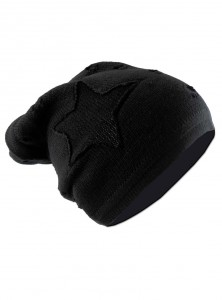 "Bonnet Gothique Rock Vixxsin (Evil Clothing) ""Black Chorstar"""