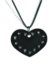"Collier Gothique Cupcake Cult (Evil Clothing) ""Spike Heart"""