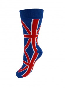 """Chaussettes Homme Punk Rock Macahel """"Union Jack"""""""