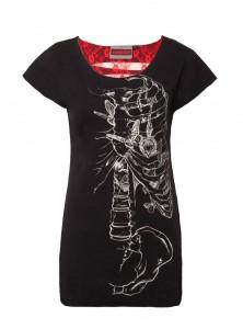 "Tee-shirt Gothique Jawbreaker ""Locket"""