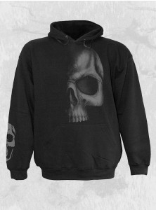 "Sweat rock gothique homme Spiral ""Shadow Skull"""