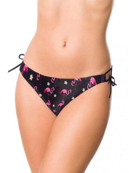 "Bas Bikini Maillot de bain Rockabilly  Pin-Up Vintage Retro Belsira ""Flamingo"" - rockangehell.com"