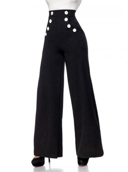 "Pantalon Retro Vintage Belsira ""Lauren"" - rockangehell.com"