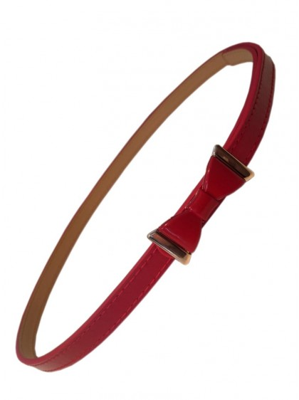 """Ceinture Rouge Rockabilly Pin-Up Retro Banned """"Summer Love Red"""""""