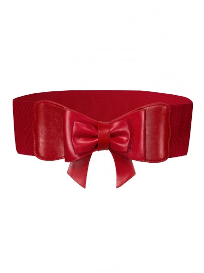 "Ceinture Rouge Retro Pin-Up Rockabilly Banned ""Play It Right"" - rockangehell.com"