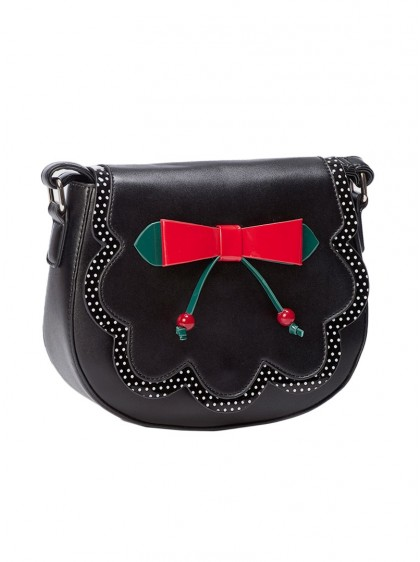 "Sac Années 50 Retro Pin-Up Rockabilly Banned ""Marilou"" - rockangehell.com"