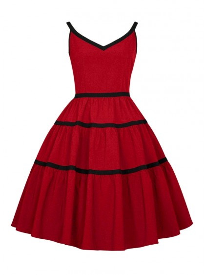 "Robe Pin-Up Rockabilly Retro Chicstar ""Lily"" - rockangehell.com"