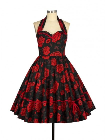 "Robe Pin-Up Rockabilly Vintage Chicstar ""Danielle"" - rockangehell.com"