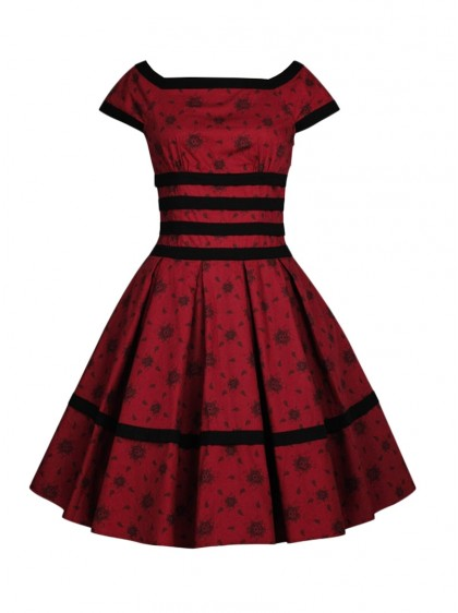 "Robe Vintage Rockabilly Pin-Up Chicstar ""Madison"" - rockangehell.com"