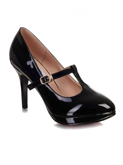 "Chaussures Escarpins Vintage Retro Rockabilly Lulu Hun ""Carrie T-bar"" - rockangehell.com"
