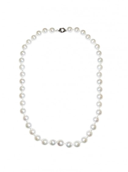 "Collier Perles Pin-Up Rockabilly Vintage Collectif ""Pearl"" - rockangehell.com"