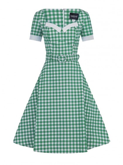 "Robe Retro Pin-Up Rockabilly Collectif ""Roberta Gingham"" - rockangehell.com"
