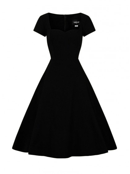 "Robe Rockabilly Pin-Up Années 50 Vintage Collectif ""Kristy"" - rockangehell.com"