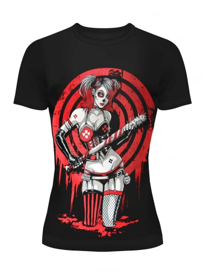 "Tee-shirt punk rock Heartless (Evil Clothing) ""Player"" - rockangehell.com"