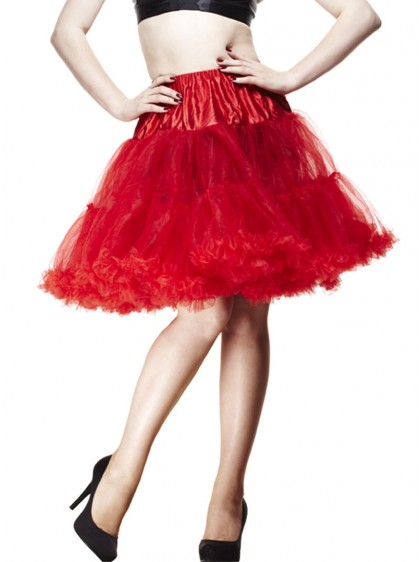"""Jupon rockabilly pin-up Hell Bunny 55 cm """"Red"""""""