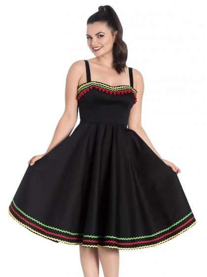 "Robe Rockabilly Pin-Up Années 50 Hell Bunny ""Marianne"" - rockangehell.com"