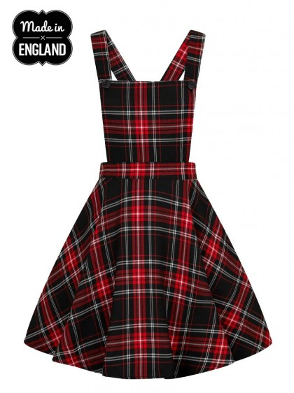 "Robe Punk Rock Rockabilly Hell Bunny ""Islay Pinafore"" - rockangehell.com"