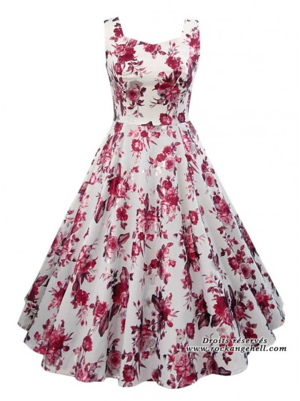 "Robe Retro Vintage Rockabilly HR London ""Aphrodite Metallic"" - rockangehell.com"