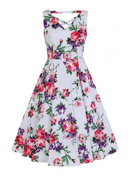 "Robe Pin-Up Rockabilly Retro HR London ""Molly Rose"" - rockangehell.com"